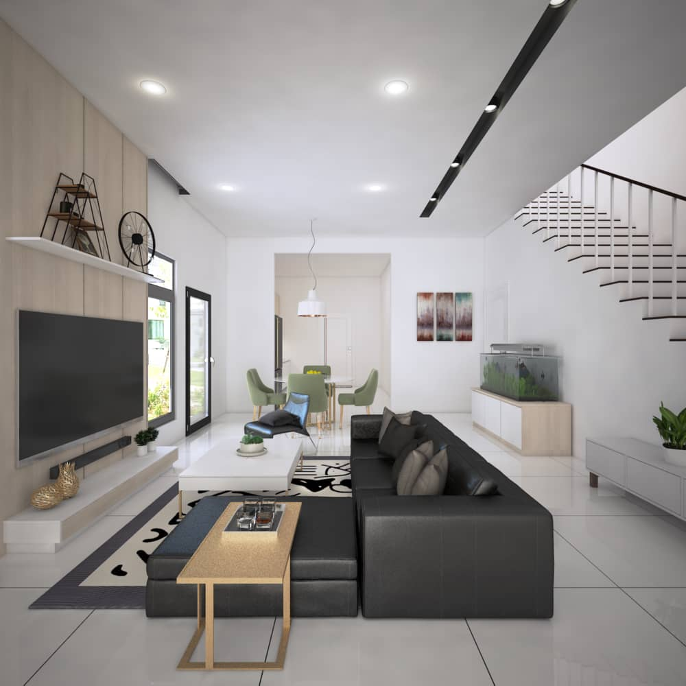 Living Room (Mutiara Hill)