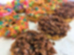 leos bakery donuts colorful fruit loops