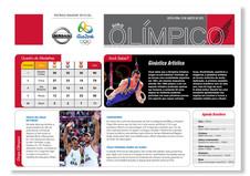 Jornal Mural de Cobertura Olimpíadas - Nissan