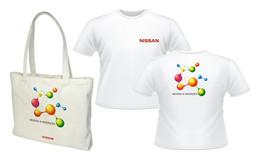 Campanha de endomarketing Salão do Automóvel - Nissan