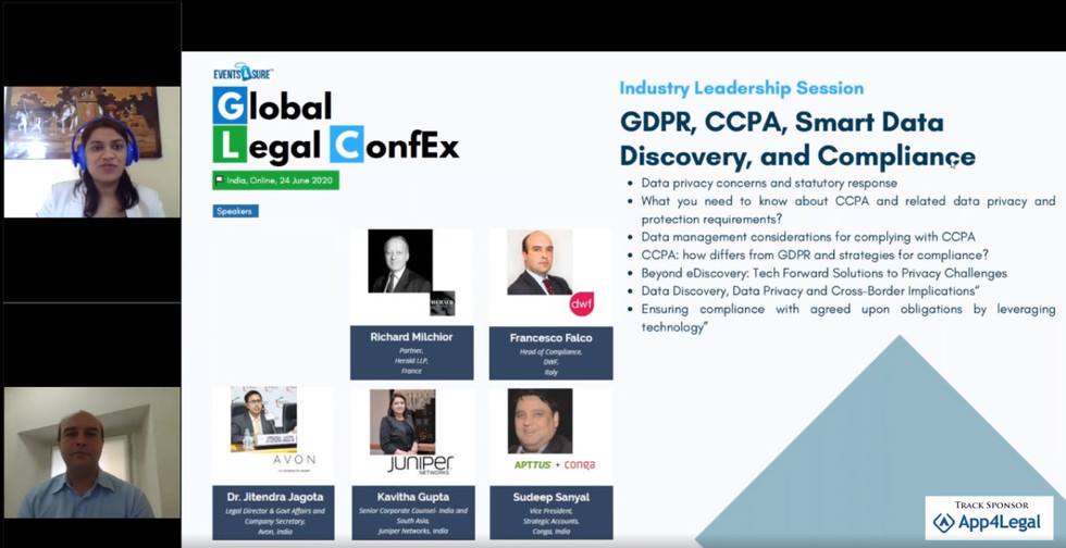 GDPR, CCPA, Smart Data Discovery, and Co
