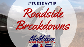 Tuesday Tip: How to Handle a Roadside Breakdown