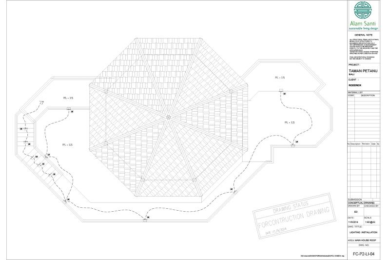 Picasa - Excerpt lighting plan