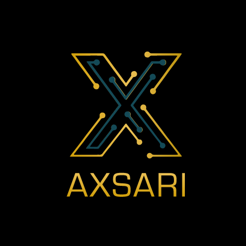 Axsari-Logo-on-black