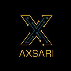 Axsari-Logo-on-black
