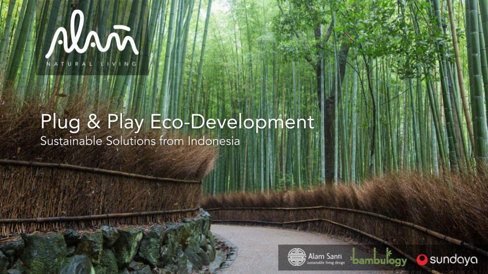 ALAM Plug & Play Eco-Development Sustain