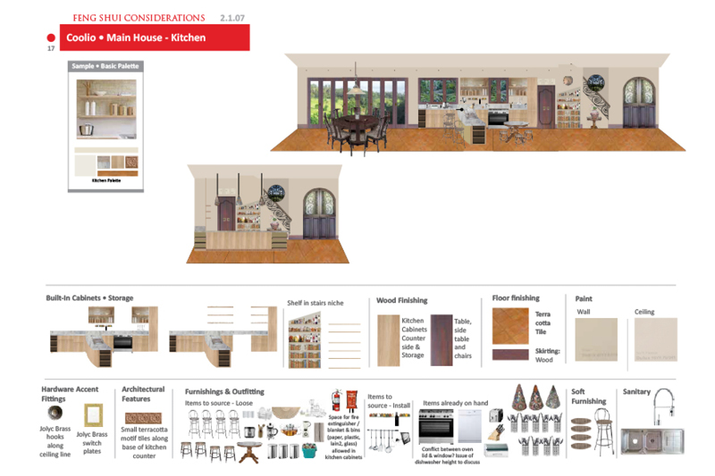 Picasa - Concept Design Open Living Kitchen area