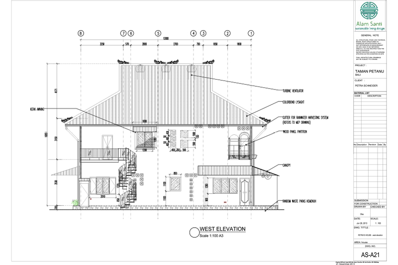 Picasa - Architectural Elevation Drawing