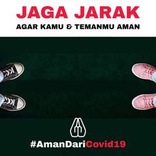 Jaga Jarak Sepatu_AmanDariCOVID19
