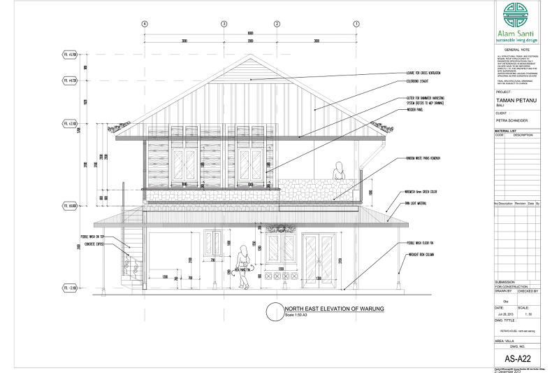 Picasa - Recycled building retrofit elevation