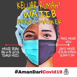 Masker untuk Medis & Umum_AmanDariCOVID19