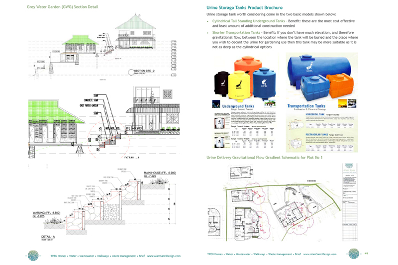 Picasa - Graywater garden and urine collection system