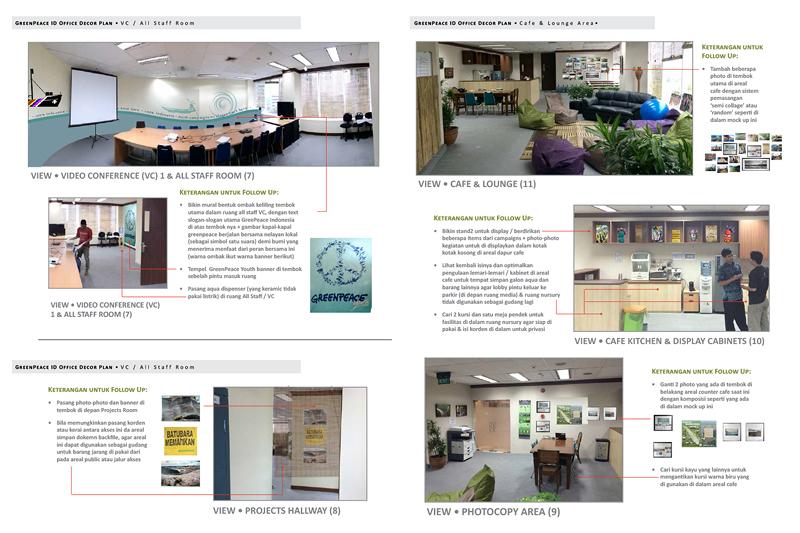 Picasa - Greenpeace Indonesia HQ Public Areas design