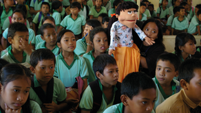 Disaster Education with Magical Muppets