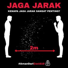 Jaga Jarak Batuk_Aman DariCOVID19