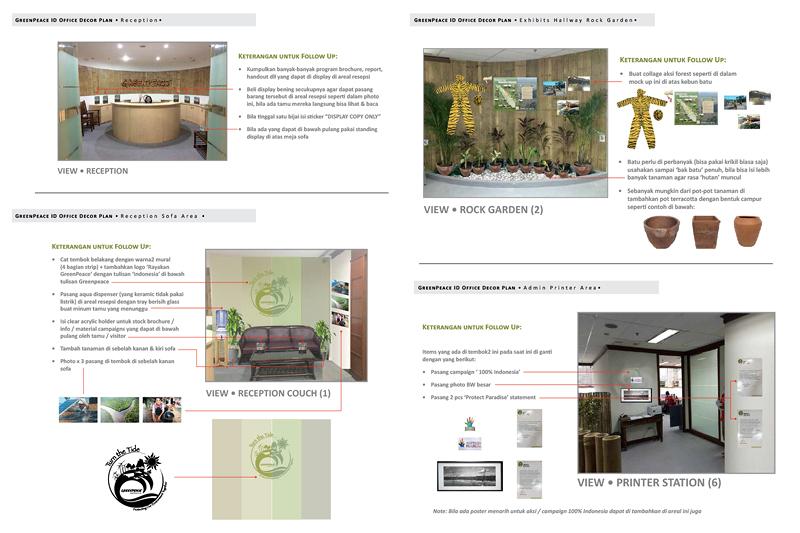 Picasa - Greenpeace Indonesia HQ Reception design