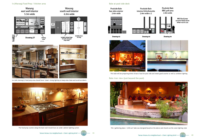 Picasa - Lighting design brief for conceptual stage