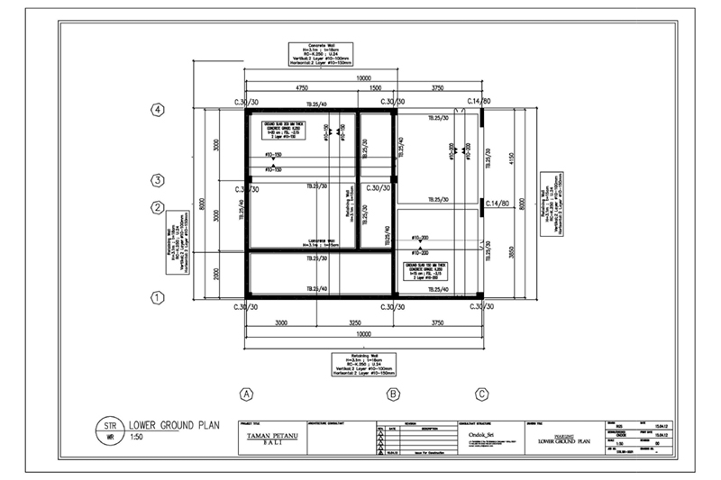 Picasa - Example of structural load drawing