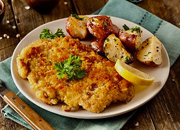 Pork Milanese Recipe with Lemon Grove Seasoning from Morning Star Kitchen