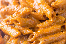 Penne Pasta With Romesco Cream Sauce Recipe by MorningStar Kitchen