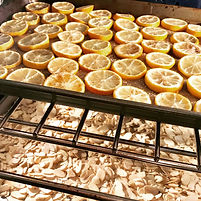 Roasted Lemons and Almonds with Vanilla Bean Salt from MorningStar Kitchen