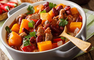 Farmhouse Pumpkin Chili Recipe by MorninStar Kitche