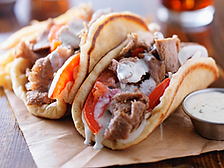 Grilled Pork Gyro Recipe by MorningStar Kitchen