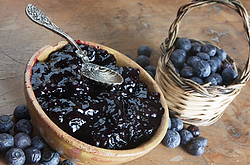 Lavender Blueberry Jam Recipe by MorningStar Kitchen