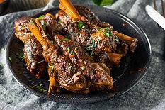 Braised Lamb Shanks with Shepherds Kitchen Vanilla Bean Salt and Tellicherry Peppercorn Recipe by MorningStar Kitchen