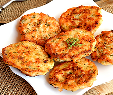 Pacific Coast Salmon Cakes Recipe by MorningStar Kitchen
