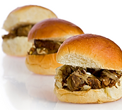 Heartland Beef Sliders with Onion Jam Recipe by MorningStar Kitchen