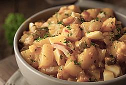 Warm Yukon Gold Potato Salad Recipe by MorningStar Kitchen
