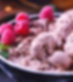 Raspberry Mocha Ice Cream Recipe by MorningStar Kitchen