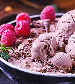 Raspberry Mocha Ice Cream Recipe by MorningStar Kitchen