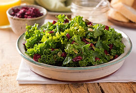 Kale, Cranberry, and Pepita Salad Recipe by MorningStar Kitchen