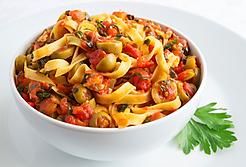 Pasta Puttanesca Recipe by MorningStar Kitchen