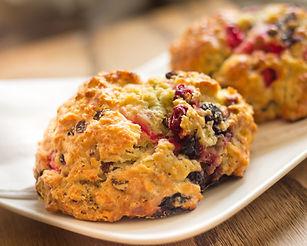 Cranberry Orange Scone Recipe by MorningStar Kitchen