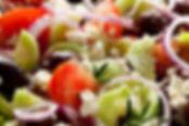 Greek Salad with Shepherds Kitchen Vinaigrette by MorningStar Kichen
