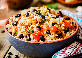 Tex-Mex Beans and Rice Recpe by MorningStar Kitchen