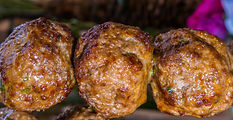Spice Masters Ras El Hanout Lamb Meatball Recipe by MorningStar Kitchen