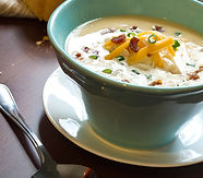 Smoky Potato Chowder Recipe by MorningStar Kitchen