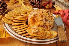 Romesco Cheddar Cheese Ball Recipe by MorningStar Kitchen