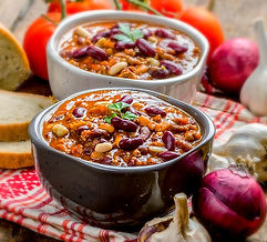 Farmhouse Pumpkin Chili Recipe by MorningStar Kitchen
