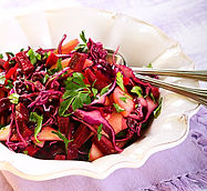 Roasted Beet and Pear Salad Recipe by MorningStar Kitchen
