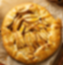 Cranberery Apple Gallette with Caramel Maple Cream Sauce Recipe by MorningStar Kitchen