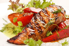 Grilled Salmon with Pacific Coast Seasoning from MorningStar Kitchen