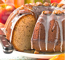 Apple Spice Cake Recipe from MorningStar Kitchen