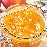 Ginger Peach Jam Recipe by MorningStar Kitchen