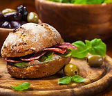 Sandwich with Vanilla Bean Sea Salt from MorningStar Kitchen
