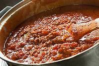 Garden Fresh Bolognese Sauce Recipe from MorningStar Kitchen